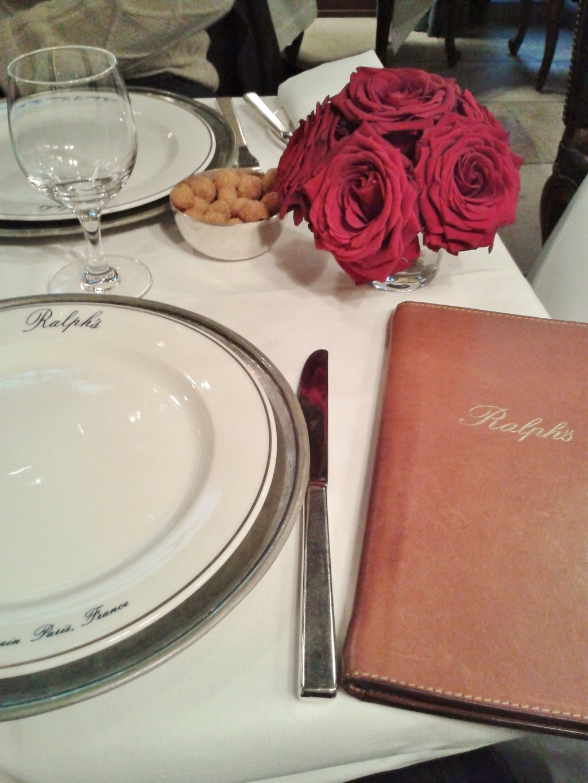 Bei Ralph's in Paris