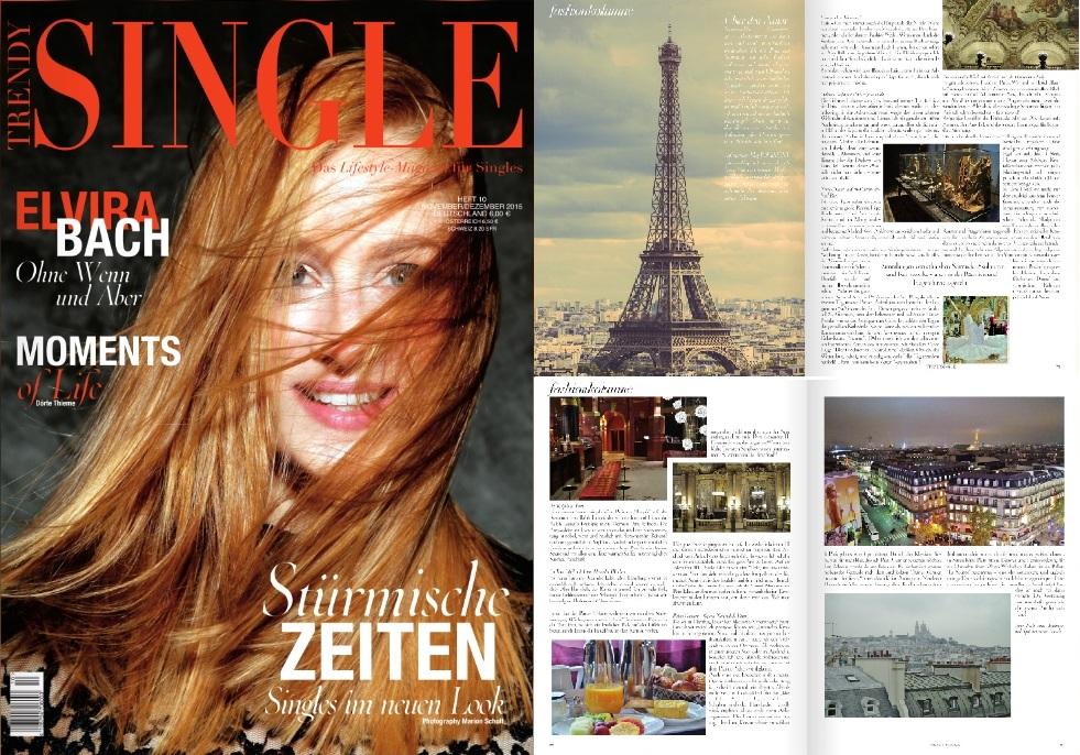 My Fashion Column at Trendy Single Magazine - Oktober