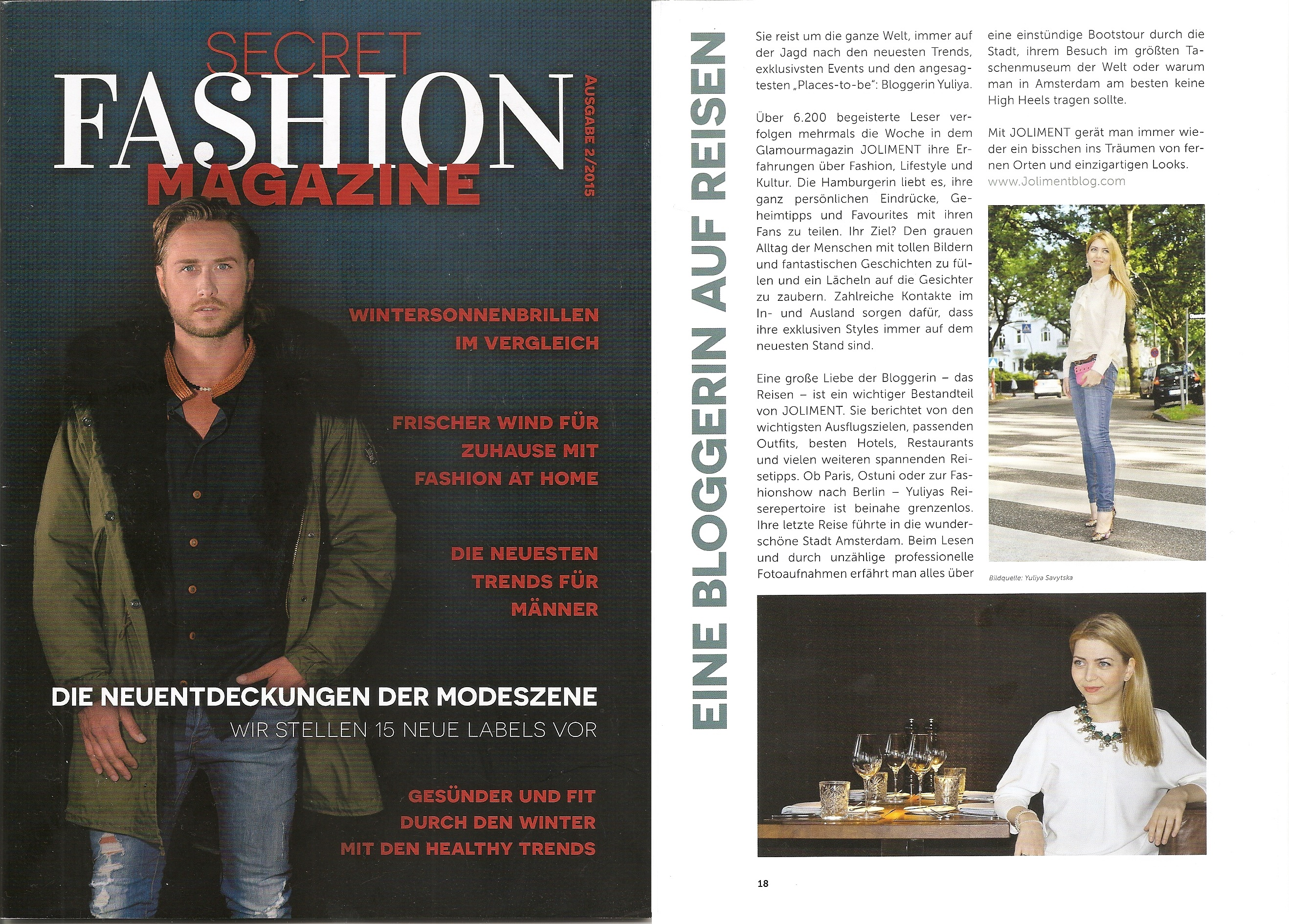 Secret Fashion Magazine - Ausgabe 2-2015