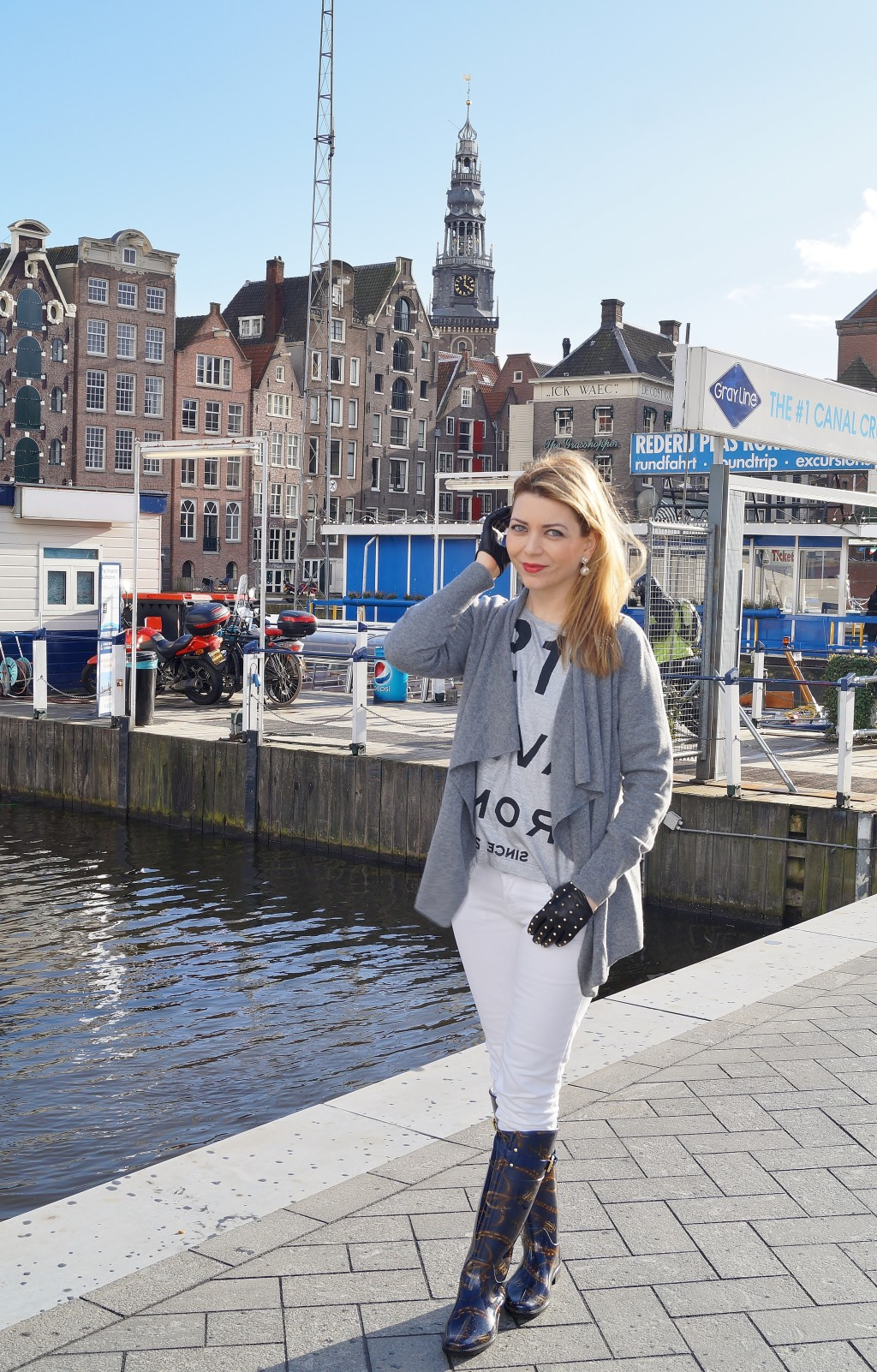 Bootstour in Amsterdam