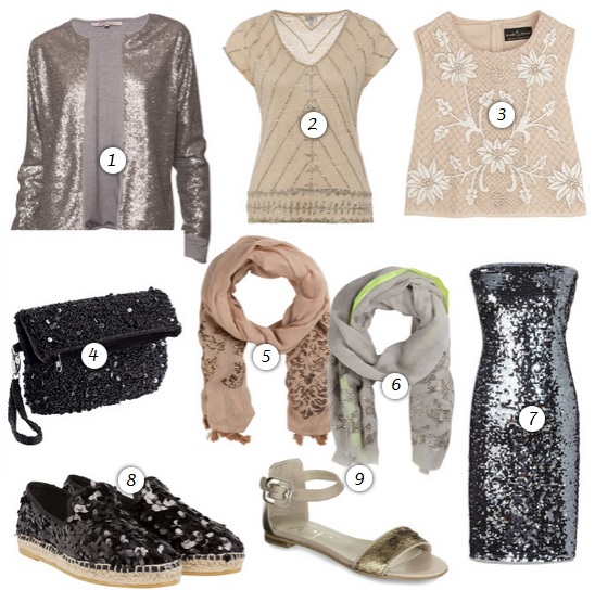 Trend Pailletten - Neutral