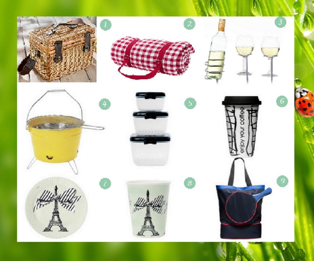 Picknick Ausrüstung