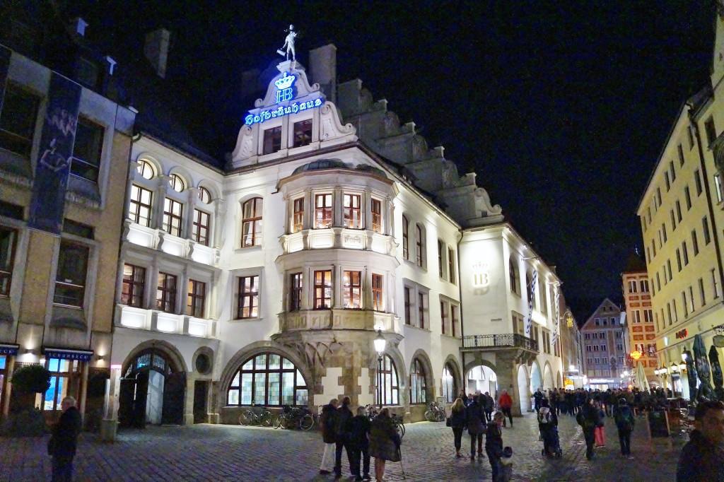 Abendspaziergang in München