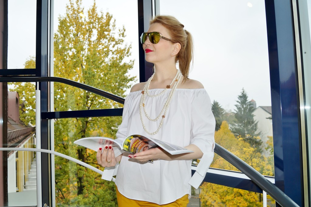 Glam Frühstück Outfit