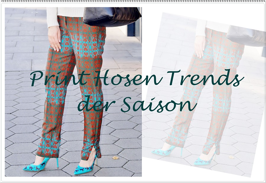 Print Hosen Trends der Saison