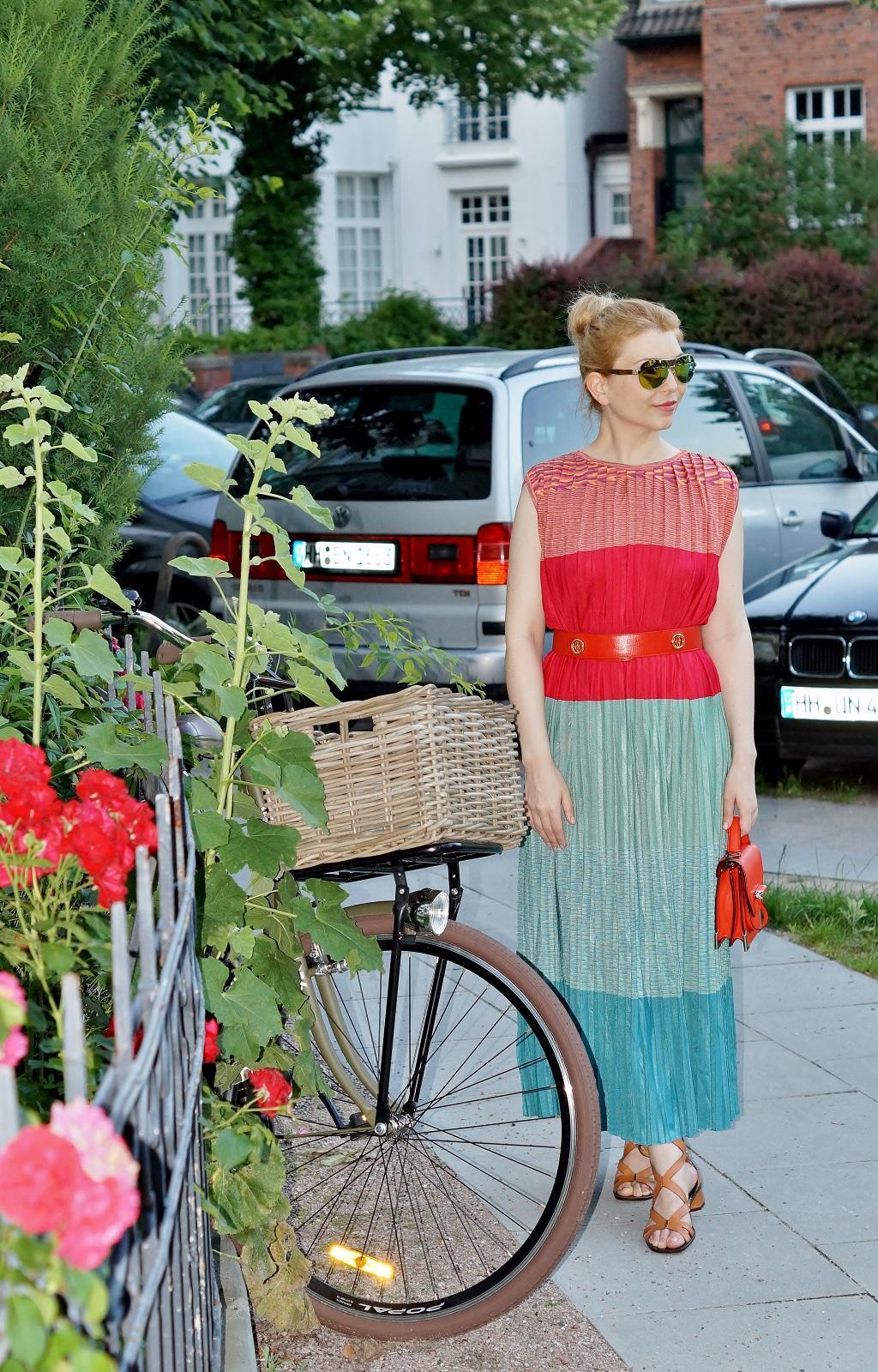 Color Block Dress - Yuliya Savytska