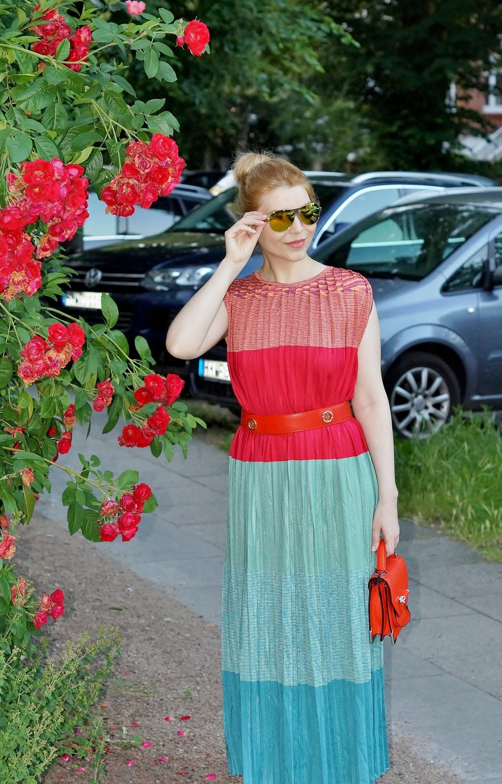 Color Block Dress - Yuliya Savytska