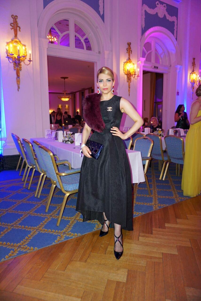 Yuliya Savytska - Ball im Hotel Atlantic Kempinski Hamburg