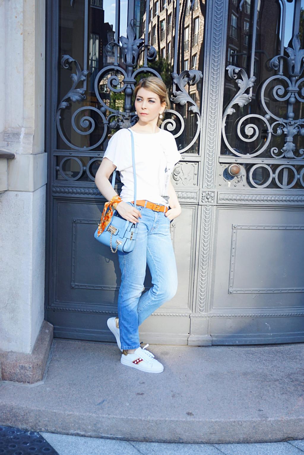 Casual Outfit - Embellished Sneakers - Yuliya Savytska