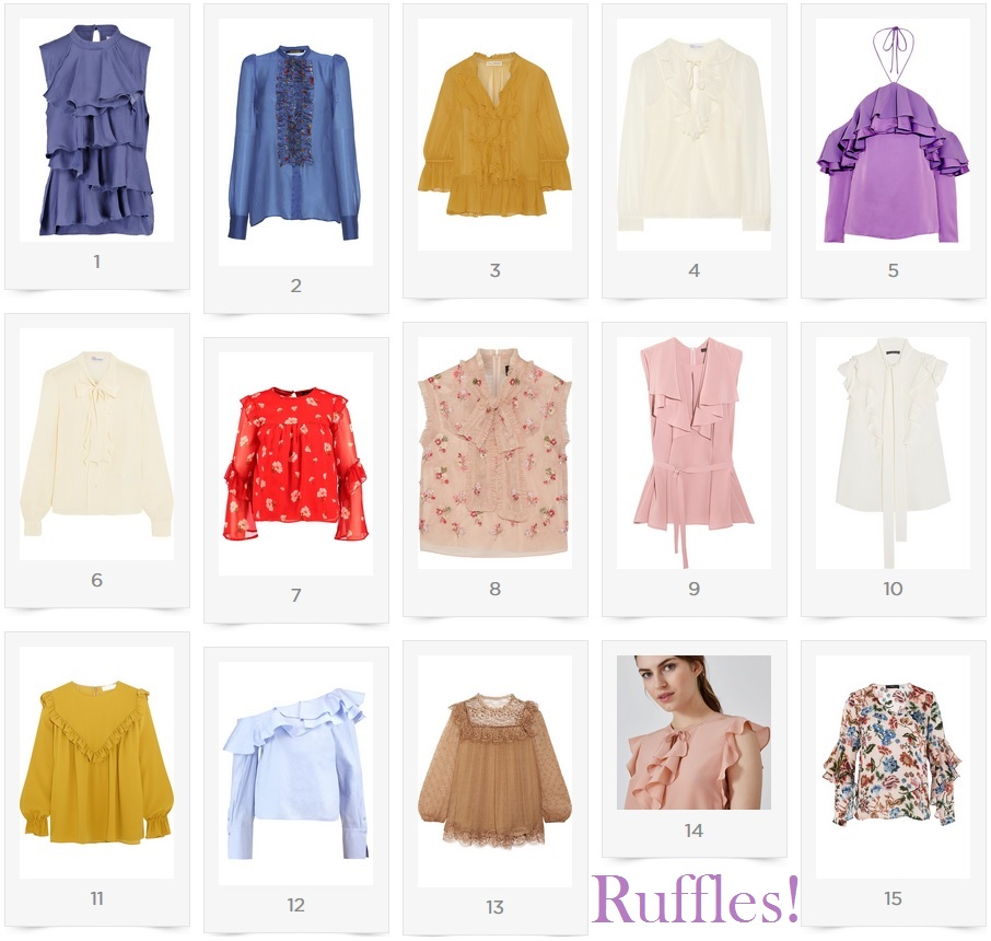 Ruffled Blouses Love
