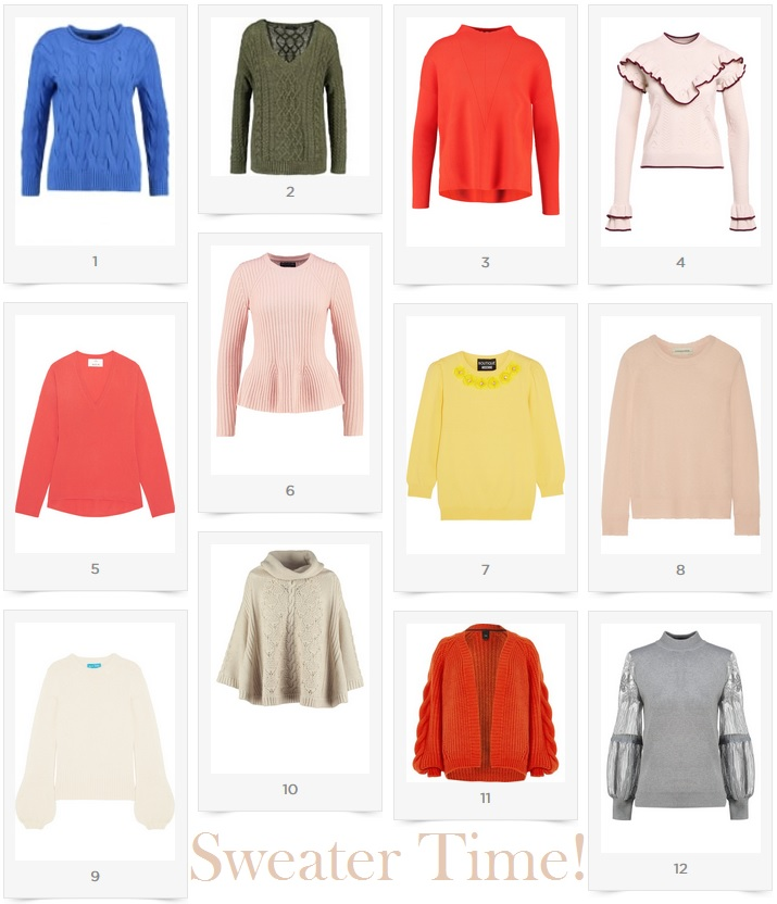 Sweater Time - My Accessible Picks Winter 2018