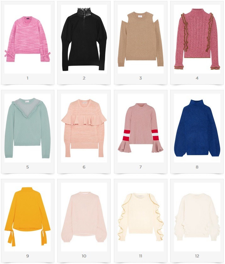 Sweater Time - My Premium Picks Winter 2018