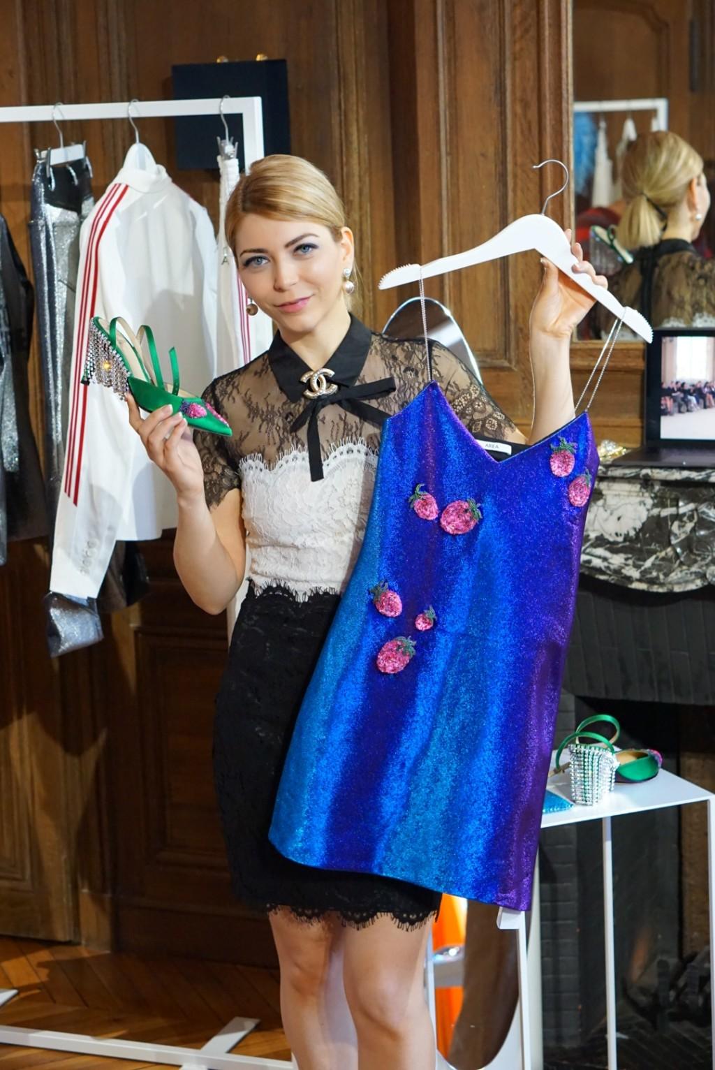 Yuliya Savytska at Americans in Paris Showroom - #jolimentblogxpfw