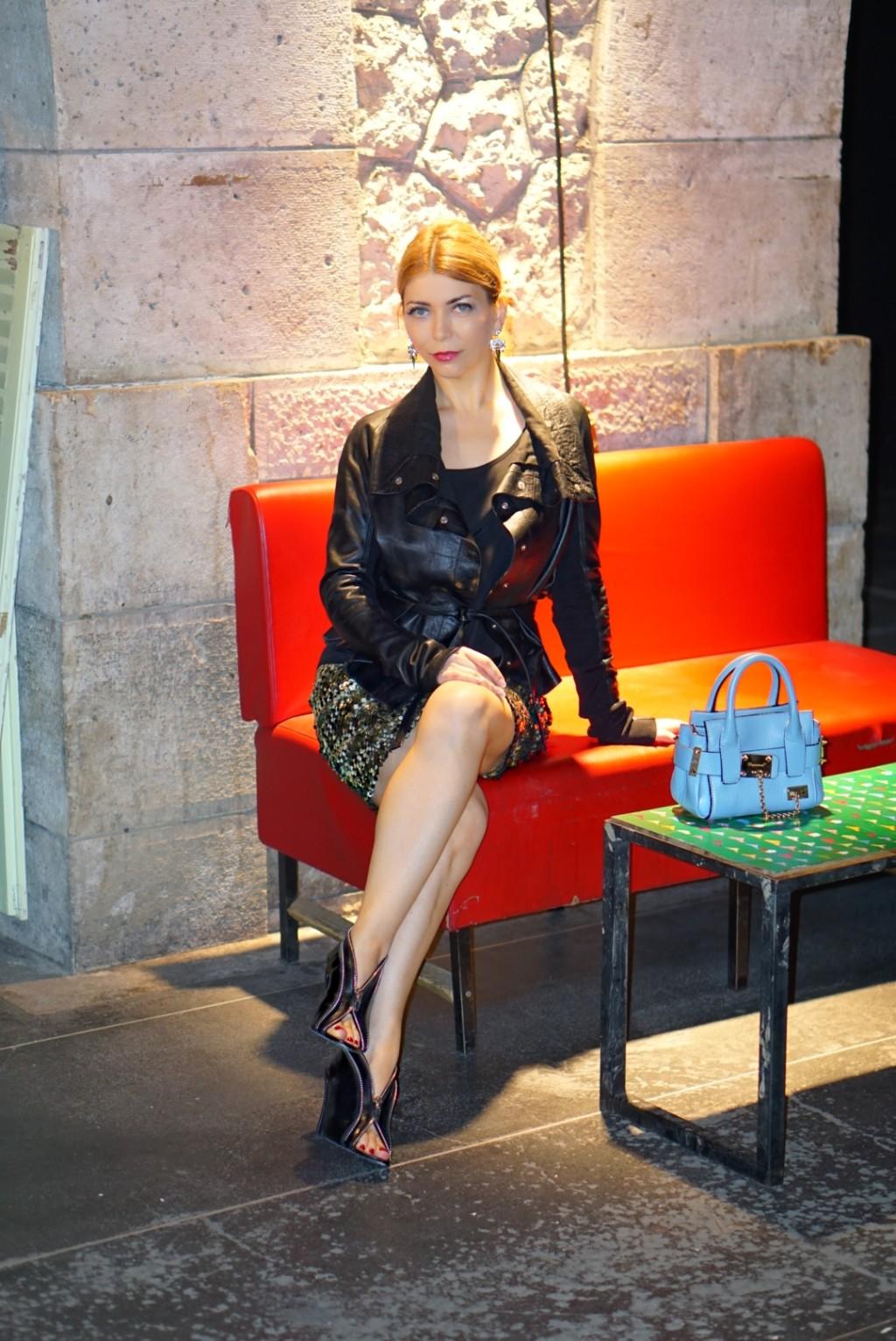 Yuliya Savytska - Opening Party of Paris sur Mode and Premiere Classe Paris