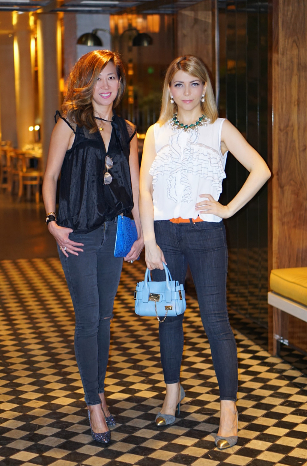 Yuliya Savytska - Blogger Dinner in Alcazar, Paris