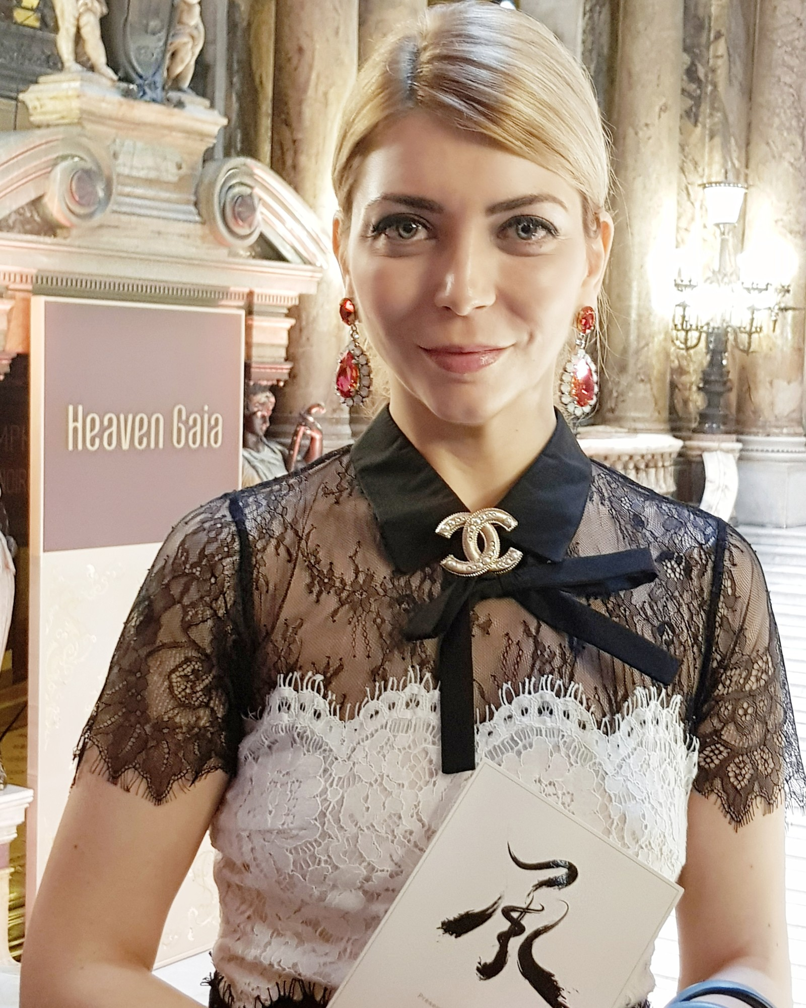 Yuliya Savytska at Heaven Gaia SS18 - #jolimentblogxpfw